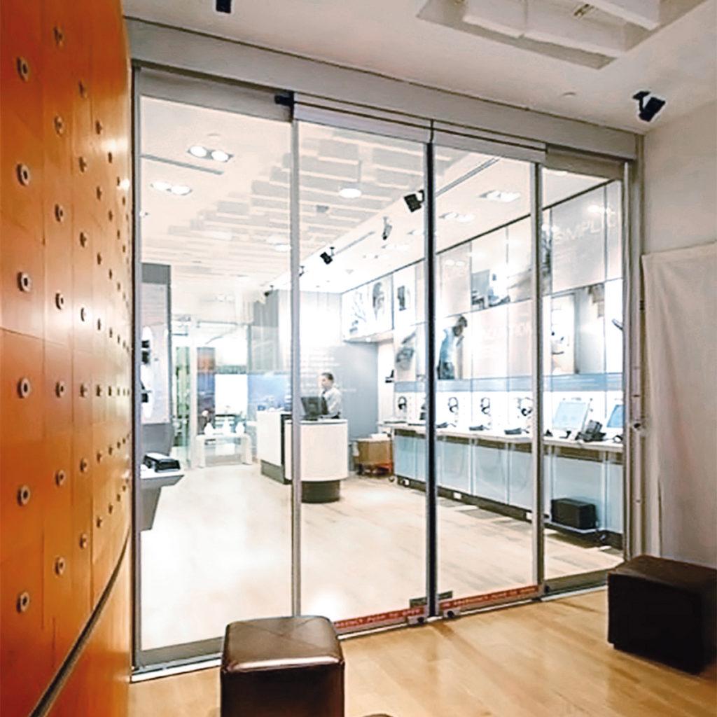 automatic sliding doors new york city